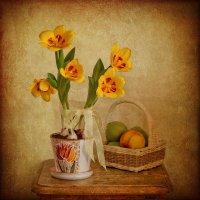 Голландское солнце цветет на столе... :: Надежда Лаптева