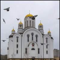 Храм Ксении Петербургской. :: Юрий Клишин