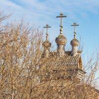 Коломенское. Храм за листвой :: Дмитрий Сушкин