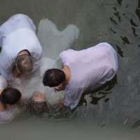 Крещение река Иордан место крещения Петра :: ira