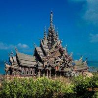 Храм Истины.Таиланд. :: Валерий Черепанов