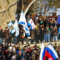 митинг в Волгограде :: Ежи Сваровский