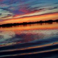...закат на Волге.... :: Ира Егорова :)))