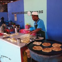 Приготовление роти (индо-малазийской разновидности хлебных лепешек ) :: Jozhеg Tumanov ( Serg F) Serg F