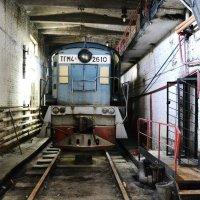 Оставленный маневровый локомотив :: Роман Fox Hound Унжакоff