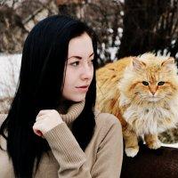 я и кот) :: Олечка Зайцева