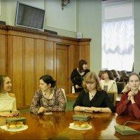 Молодые женщины - заслуженные ученые Московского университета :: Любовь Белянкина