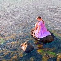 Девочка и море... :: Андрей Войцехов
