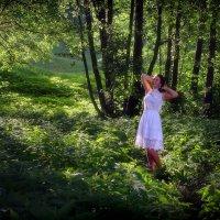 Женщина в белом..... :: Андрей Войцехов