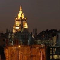 Ночная Москва - МИД :: Николай Ефремов