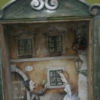 На улицах Праги (витрины магазинов) с автопортретом :: Сергей Глотов