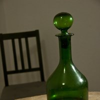 Натюрморт с зеленой бутылкой :: Анатолий Бастунский