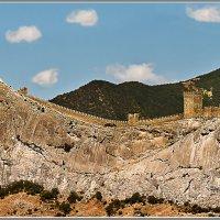 Генуэзская крепость. :: Александр Смольников
