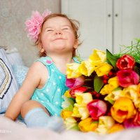 девочка весна :: Катерина Репина