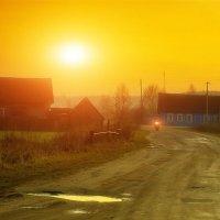 Закатный ковбой.... :: Александр | Матвей БЕЛЫЙ