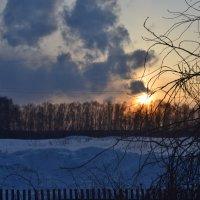 Зимний закат :: Даша Ковалекно