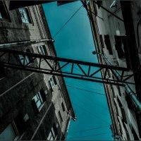 Небо над городом :: Наталья Rosenwasser