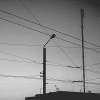 когда-нибудь эти провода пережмут наше горло. :: Юля Рудакова