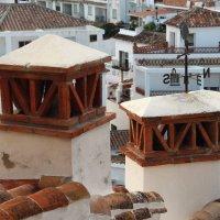 Вид на крыши. :: Larisa Gavlovskaya
