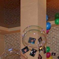 Два мыльных пузыря в интерьере :: Наталья Золотых-Сибирская