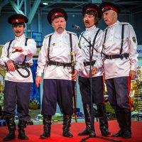 Бравые казаки. :: Андрей Ярославцев