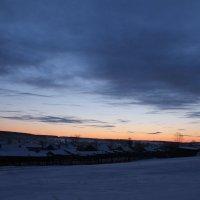 Закат солнца :: Юлия Алексеева
