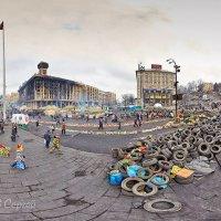 Майдан в Киеве. Февраль 2014г :: Сергей Гаджилов