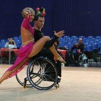 Международный турнир по танцам на колясках. :: Вячеслав