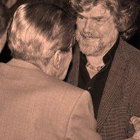 Встреча старых горновосходителей :: Вальтер Дюк