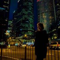 ...огни ночного города... :: Сергей Андрейчук