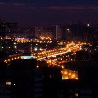 Огни города... :: Елена Сазонтова