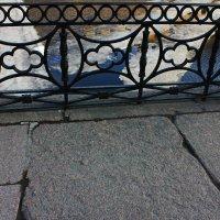 Гранитная мостовая и ограда наб.Мойки. :: Александр Лейкум