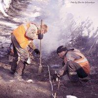 Будни рабочих на геологоразведочных работах :: Оленька Соломатова