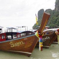 тайские лодки :: Сергей Конопленко