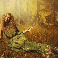 """Dryad""-woodnymph (миф. дриада) 2013 :: Irina Schastlivaya"