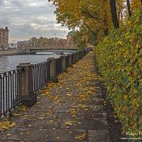 Осенняя набережная Летнего сада :: Valeriy Piterskiy