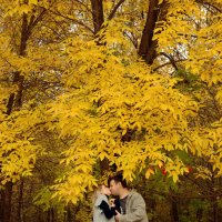 Осенний поцелуй :: Ирина Абросимова