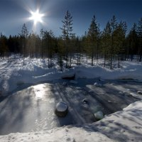 мороз и солнце.. :: Игорь Чубаров