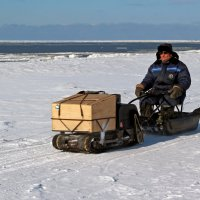 Белое море. Механизированный рыболов :: Владимир Шибинский