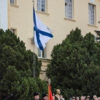 Возвращение в Россию - Андреевский флаг :: Анна Выскуб