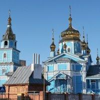 Православная церковь на ул.Шолмова :: Евгений Софронов