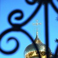 Купол храма Троицы Живоначальной в Лашме :: Николай Варламов