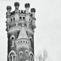 Водонапорная (Пристрельная) башня Обуховского завода. 1898г :: Аркадий Алямовский