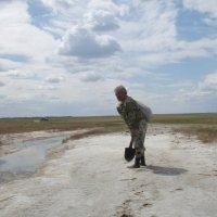 Лечебная грязь оз.Эбейты :: Алексей Чирков