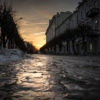 Отблески заката :: Олег Козлов