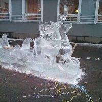 Ледяная скульптура. :: Мила
