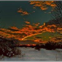 Зимний вечер :: Александр Смольников