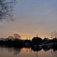 рассвет в рыбацкой слободе :: Дмитрий Близнюченко