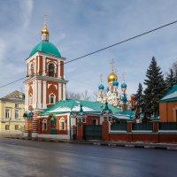 Храм на Гончарной улице :: Павел Myth Буканов