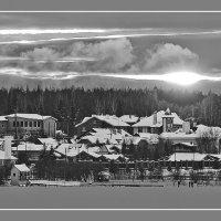 Закат на другом берегу... :: Pavel Kravchenko